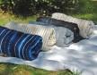 Sur matelas tie&dye bleu Tensira