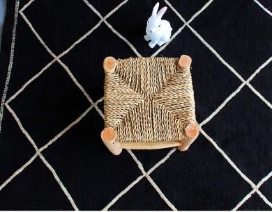 Tabouret marocain enfant artisanal