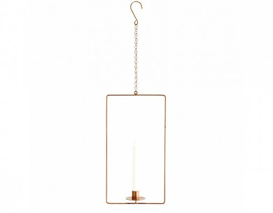 Suspension bougeoir rectangulaire Madam Stoltz