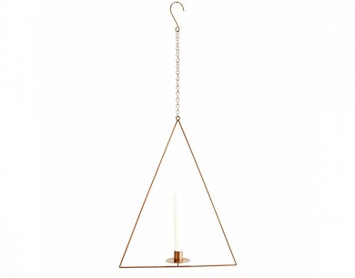 Suspension bougeoir triangle Madam Stoltz