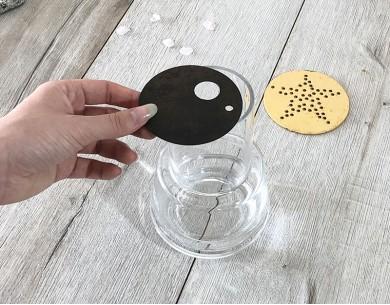 Set de 3 disques pour vase